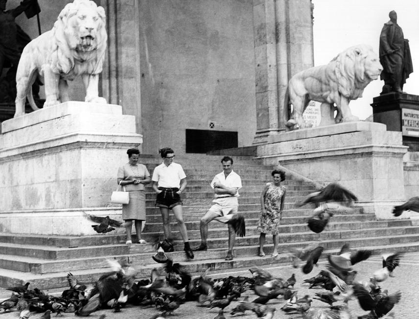 Feldherrn und Tauben