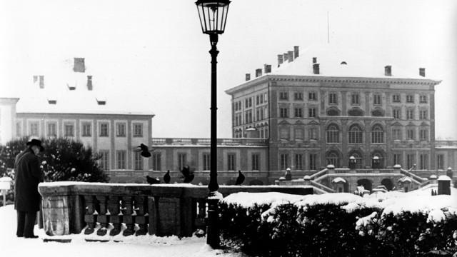 Nymphenburg im Schnee