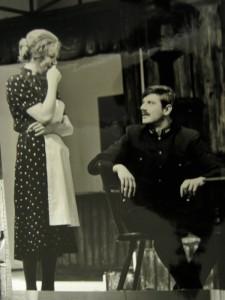 Hans Brenner mit Partnerin